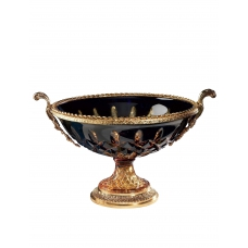 "CRYSTAL ROUND BOWL ""TOSCA"""