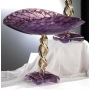 MURANO GLASS BOWL ON STAND