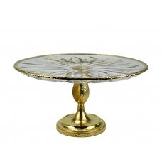 """CRYSTAL CAKE STAND """"MOON"""" H19 cm"""