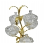 3-TIER STAND for sweets and nuts Tree branch with crystal vases H42 cm  - photo 3