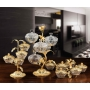 3-TIER STAND for sweets and nuts Tree branch with crystal vases H42 cm  - photo 4
