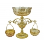 2-TIER VASE-STAND for fruits, sweets and nuts H36 cm - photo 2