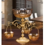 2-TIER VASE-STAND for fruits, sweets and nuts H36 cm - photo 3