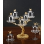 2-TIER STAND for sweets and nuts Tree with crystal vases H36 cm - photo 5