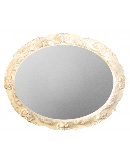 OVAL MIRROR, 98x78 cm, classic frame