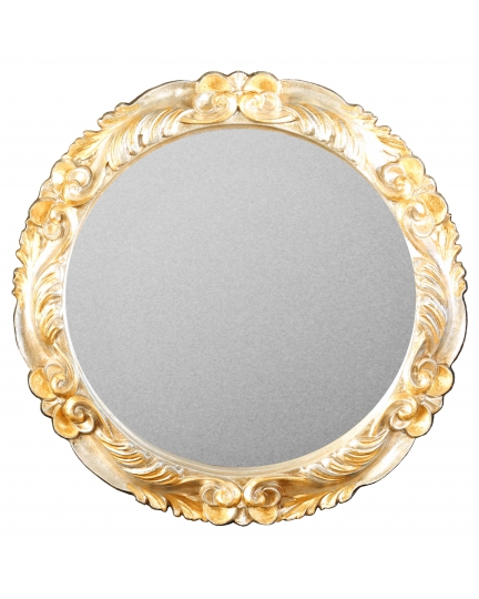 ROUND MIRROR, D66 cm, classic frame