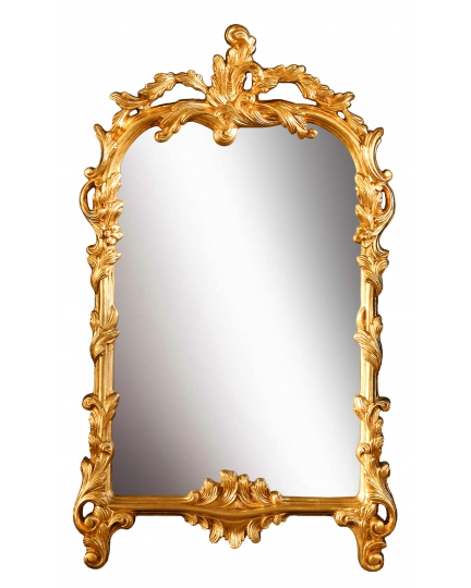ORIGINAL SHAPE MIRROR, 58x99 cm, carved frame