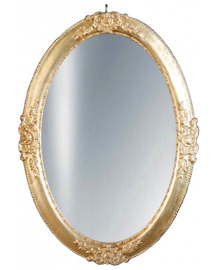 OVAL MIRROR, 46x65 cm, classic frame