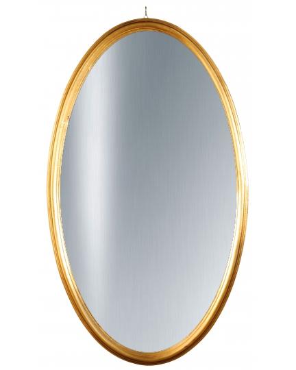 OVAL MIRROR, 71x122 cm, classic frame