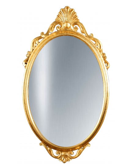 OVAL MIRROR, 53x96 cm, classic frame