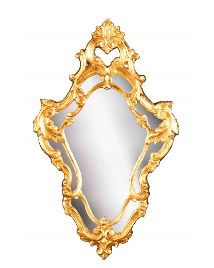 ORIGINAL SHAPE MIRROR, 48x78 cm, carved frame