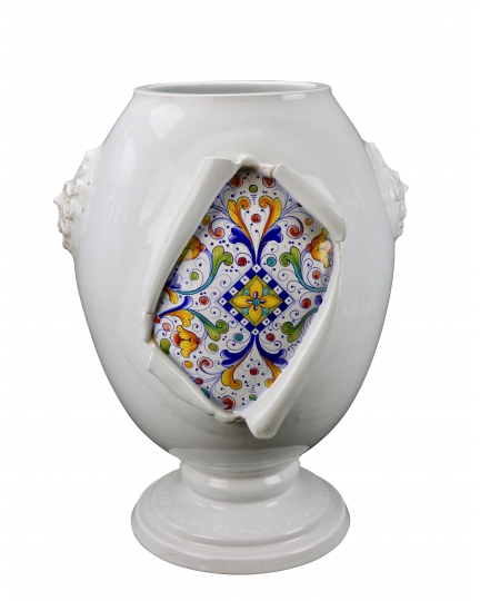 "URN from a series ""SURPRISE"" (ornament Renaissance)  H62 cm"