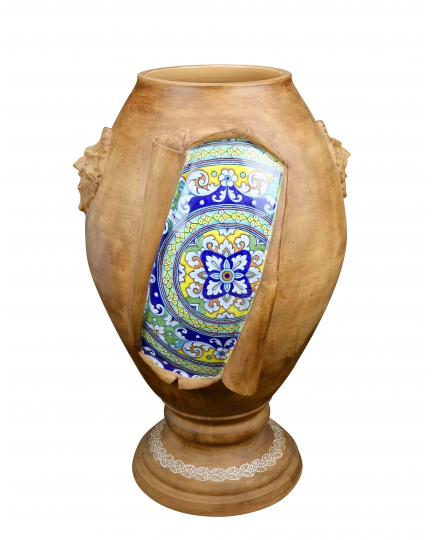 "URN from a series ""SURPRISE"" (ornament 151)  H85 cm"