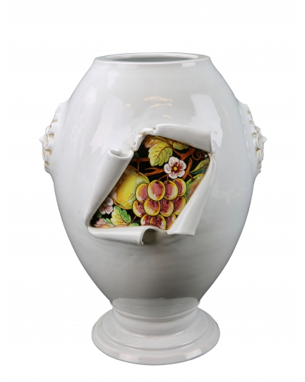 "URN from a series ""SURPRISE"" (ornament Grape)  H51 cm"