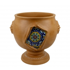 """PLANTER from a series """"SURPRISE"""" (ornament 155)  H42 cm"""