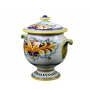 """JAR with lid from a series """"RICCIOLO"""" H29 cm"""