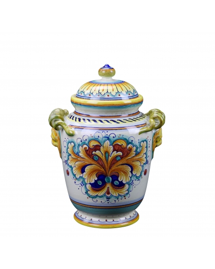 """JAR with lid from a series """"RICCIOLO"""" H27 cm"""