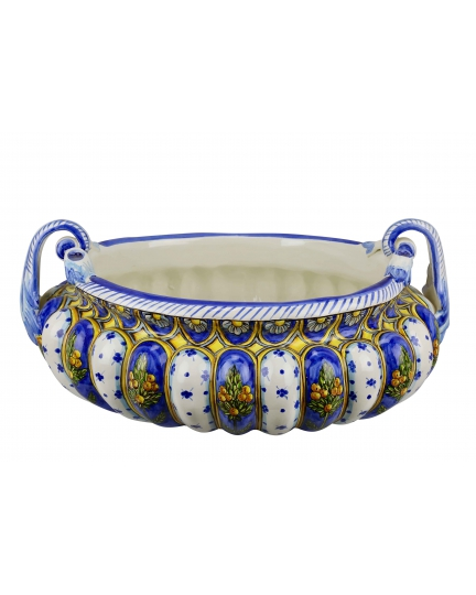 BOWL with handles 0063 H21 cm