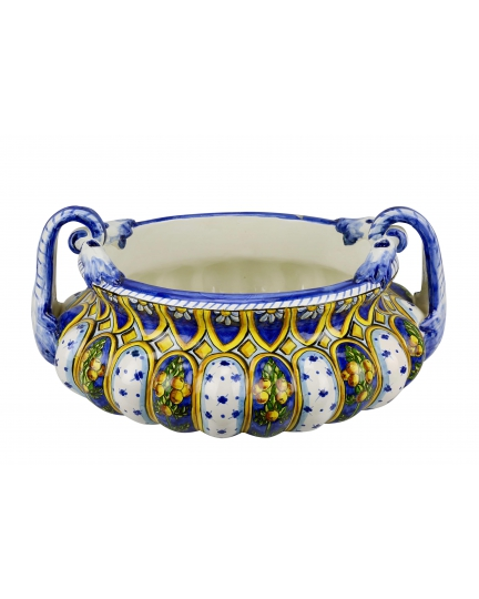 BOWL with handles 0064 H19 cm