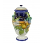 DECORATIVE AMPHORA with lid 0068 H42 cm