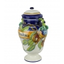 DECORATIVE AMPHORA with lid 0069 H42 cm