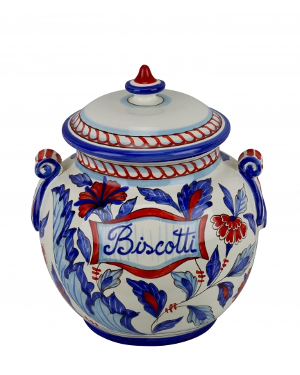 "JAR WITH LID ""BISCOTTI"" 0081 H27 cm"