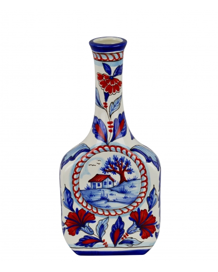 DECORATIVE BOTTLE 0082 H31 cm