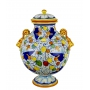 DECORATIVE AMPHORA with lid 0108 H47 cm - photo 2