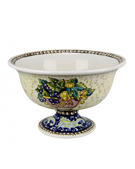 ROUND FOOTED BOWL  0109 H22 cm