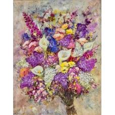 """""""Seducenti sentimenti"""" (The charming feelings) Luciano Pasquini (oil on canvas, 70 х 90 см, 2017)"""
