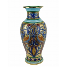 "VASE in the style of Byzantine mosaics H60cm from the ""Gold&Azure"" series"