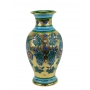 "MEDIUM VASE in the style of Byzantine mosaics H41cm from the ""Gold&Azure"" series"