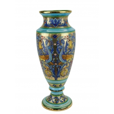 "IMPERO VASE in the style of Byzantine mosaics H64cm from the ""Gold&Azure"" series"