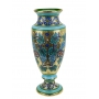 "MEDIUM IMPERO VASE in the style of Byzantine mosaics H51cm from the ""Gold&Azure"" series"