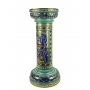 "MEDIUM COLUMN in the style of Byzantine mosaics H71cm from the ""Gold&Azure"" series"