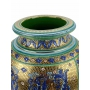 "MEDIUM URN in the style of Byzantine mosaics H55cm from the ""Gold&Azure"" series"