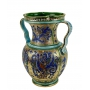 "VASE ""GIARRA"" with two handles in the style of Byzantine mosaics H50cm from the ""Gold&Azure"" series - photo 2"