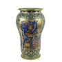 "UMBRELLA STAND №2 in the style of Byzantine mosaics H49cm from the ""Gold&Azure"" series"