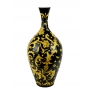 "NARROW-NECK VASE H58cm from the ""Yellow on Black"" series"