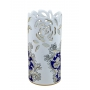 "FLOWER VASE H30cm from the ""Blue on White"" series"