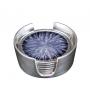 GLASS SUPPORT SET  (ecoaluminum, grey enamel) - photo 3