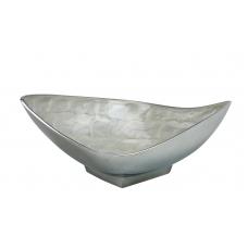 CENTERPIECE  (Rombo medium series, ecoaluminum, white enamel)